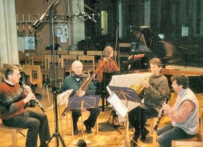 The Ambache Chamber Ensemble recording K452, February 2003