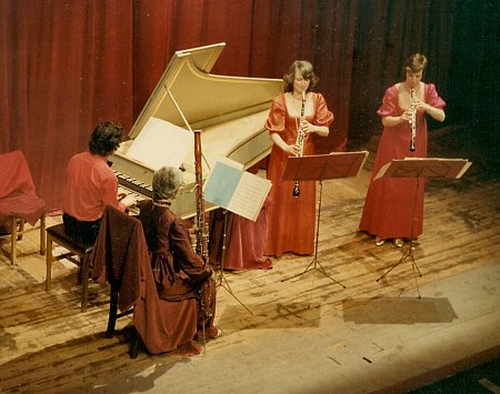 The Sheba Sound on tour in Germany, c1979